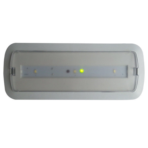 1.5W Commercial Ceiling Led Automatic Emergency Light Fixture 50Hz / 60Hz